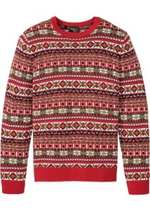 Norweger-Pullover mit Wolle