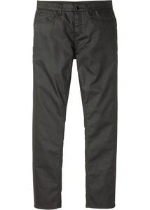 Slim Fit Stretch-Hose mit Beschichtung, Straight