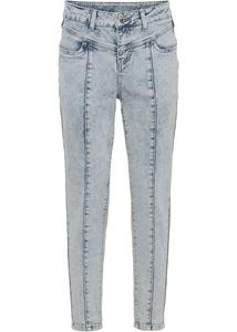 Boyfriend-Jeans mit Teilungsnähten