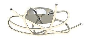 LED-Deckenleuchte, 5-flammig, Chrom