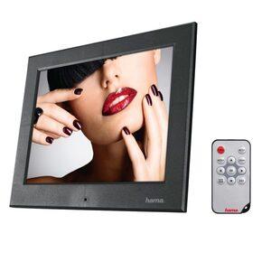 Hama Digitaler Bilderrahmen, 20,32cm (8 Zoll), 1024 x 768 Pixel »USB SD SDHC MMC Fernbedienung«