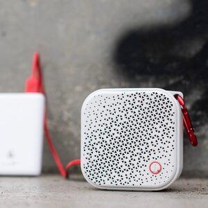 Hama Outdoor-Lautsprecher mit Akku Mono Bluetooth-Lautsprecher (Bluetooth, 3.5 W, kabellos, wasserdicht IPX7)