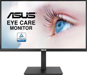 Asus VA27AQSB LCD-Monitor (2560 x 1440 Pixel, QHD, 1 ms Reaktionszeit, 75 Hz, inkl. Office-Anwendersoftware Microsoft 365 Single im Wert von 69 Euro)
