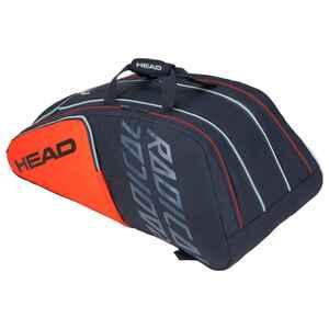 Tennistasche Radical 12R schwarz/orange