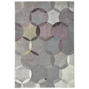 Esprit Webteppich 133/200 cm multicolor, taupe, beige, pastellgrün, pastellblau , Modernina , Textil , Graphik , 133x200 cm , für Fußbodenheizung geeignet, in verschiedenen Größen erhältlich, U