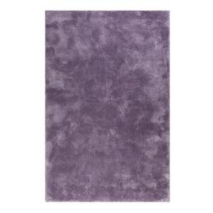 Esprit Hochflorteppich 70/140 cm getuftet lila , Relaxx Esp-4150 , Textil , Uni , 70x140 cm , für Fußbodenheizung geeignet, in verschiedenen Größen erhältlich, lichtunempfindlich, pflegeleicht,