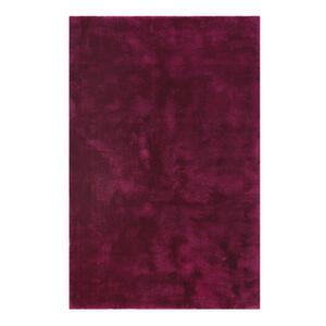 Esprit Webteppich 80/150 cm violett, weinrot , Relaxx Esp-4150 , Textil , 80x150 cm , für Fußbodenheizung geeignet, in verschiedenen Größen erhältlich, lichtunempfindlich, pflegeleicht, strapazi