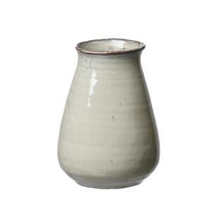 Ritzenhoff Breker Vase 18 cm , 741506 , Braun, Weiß , Keramik , 14x18x14 cm , glänzend , zum Stellen , 003417054621