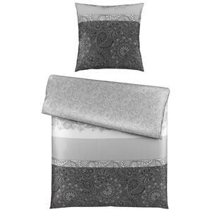 Esposa Bettwäsche satin anthrazit 135/200 cm , Thonny , Textil , Abstraktes , 135x200 cm , Satin , 004378004301
