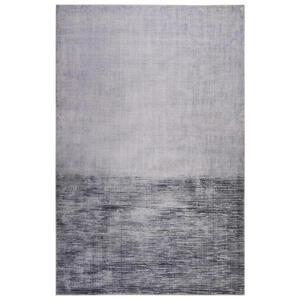 Esprit Flachwebeteppich 60/100 cm grau, hellgrau , Newlands , Textil , Streifen , 60x100 cm , für Fußbodenheizung geeignet, in verschiedenen Größen erhältlich, für Hausstauballergiker geeignet,