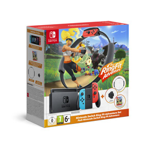 Switch Ring Fit Adventure-Set