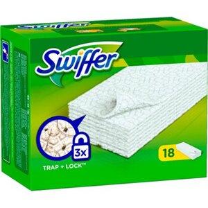 Swiffer Trockene Bodentücher Nachfüllpackung 18 Stück