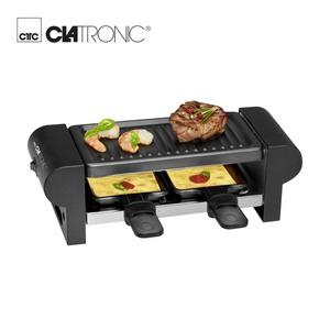 Raclette-Grill RG 3592 • für 2 Personen • zum Grillen und Überbacken • Grillfläche: ca. 20,5 x 10,5 cm • Cool-Touch-Gehäuse