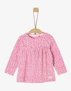 Baby Girls Langarmshirt mit Animal-Print