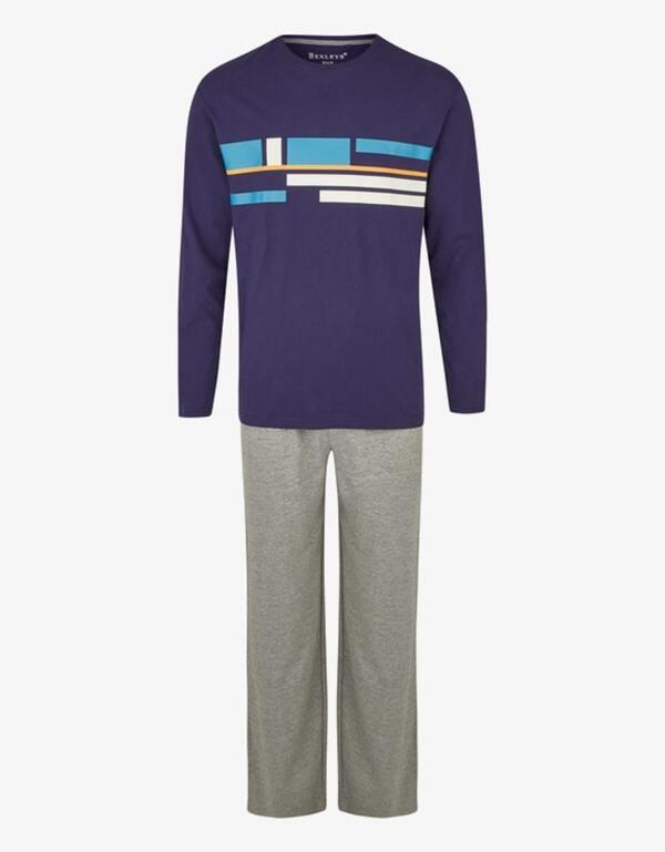 Bexleys man - Pyjama mit Frontdruck