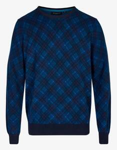 Bexleys man - Pullover in modischem Karomuster