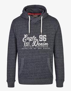 Eagle Denim - Outdoor Sweatshirt mit Kapuze
