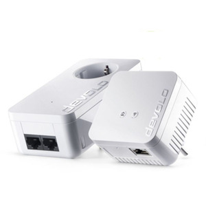 Devolo dLAN 550 WiFi Starter Kit (500Mbit, 2er Kit, Powerline + WLAN, 1xLAN)