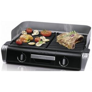 Tefal TG 8000 Elektrischer Barbecue Grill BBQ Family Schwarz / Silber