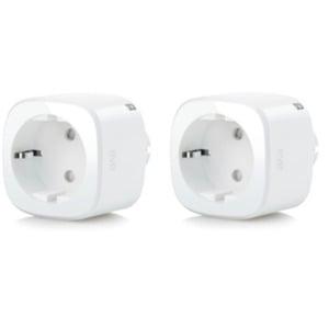Eve Energy 2er Set - Smarte Steckdose mit Verbrauchsmessung & Thread für Homekit