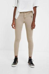 Knöchellange Skinny Jeans