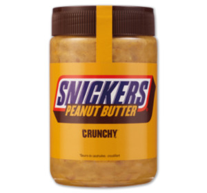 SNICKERS oder M&M's Peanutbutter