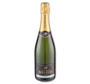 ALFRED BASELY Champagner