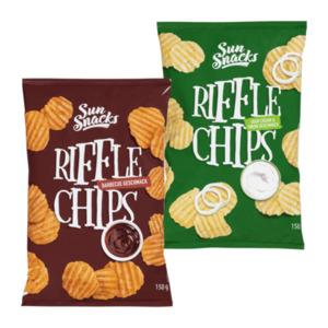 SUN SNACKS     Riffle Chips