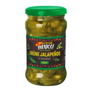 BIENVENIDO MEXICO     Grüne Jalapeños