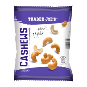 TRADER JOE'S     Cashews