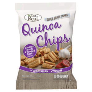 Eat Real Quinoa Chips Sundried Tomato & Roasted Garlic 80g