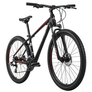 KS Cycling Mountainbike Hardtail 27,5 Zoll Morzine 21 Gänge für Herren, Größe: 46, Schwarz