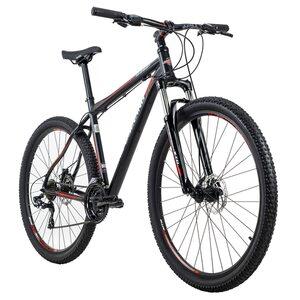 KS Cycling Mountainbike Hardtail 29 Zoll Sharp 21 Gänge für Herren, Größe: 51, Schwarz