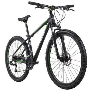 KS Cycling Mountainbike Hardtail 27,5 Zoll Morzine 21 Gänge für Herren, Größe: 41, Schwarz