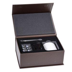GRÄWE Whiskeysteine-Geschenkset grau 9-teilig