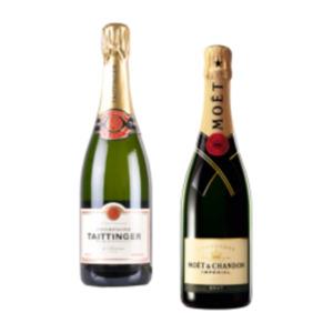 Champagner Moët & Chandon Brut Impérial, Taittinger Brut Réserve