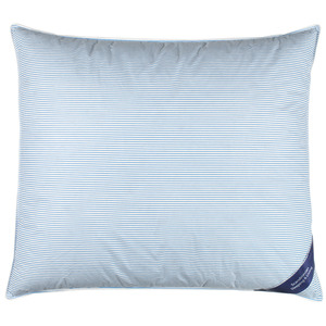Kissen FALKETIND (80x80, grau-weiß)