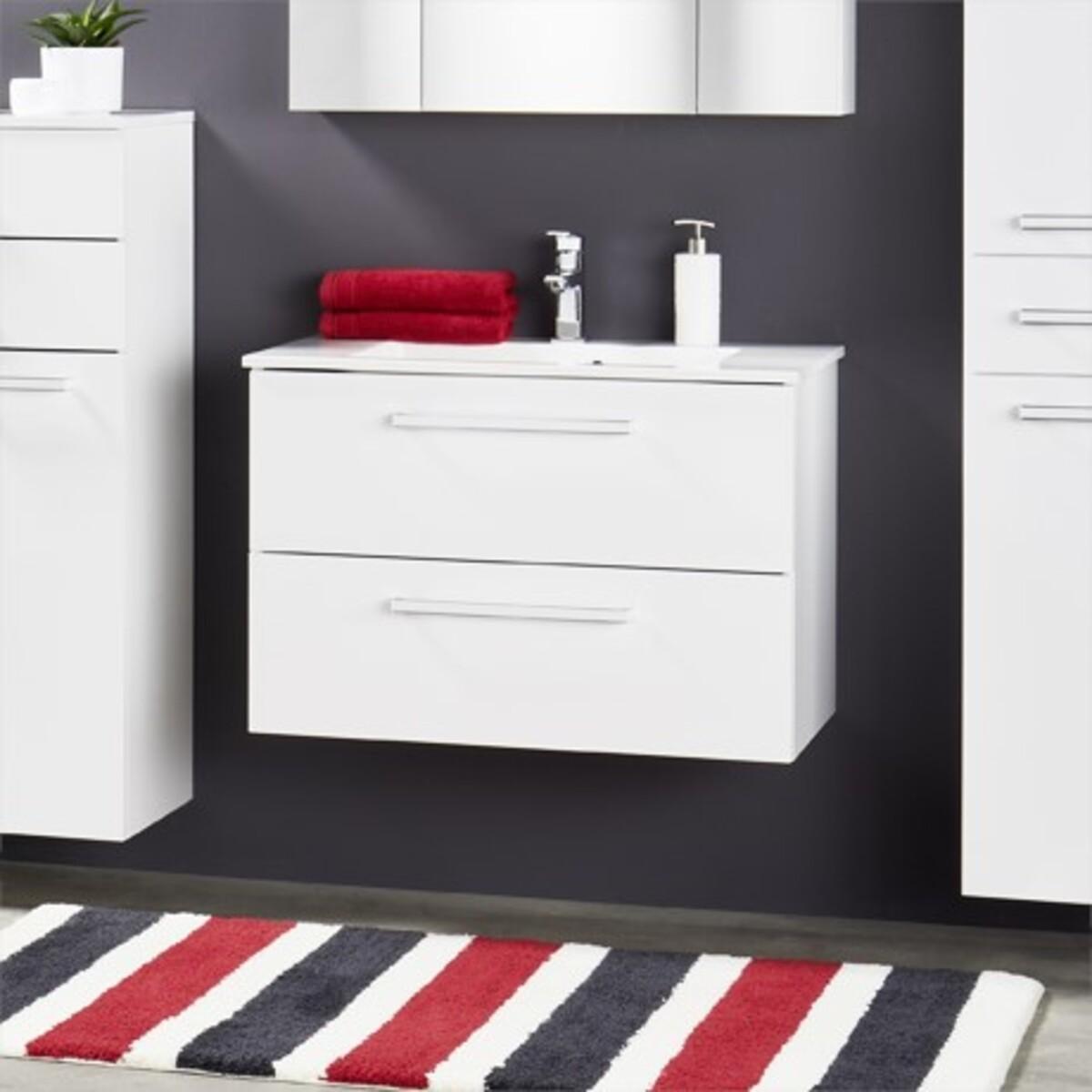 Bild 1 von Bad-Waschtisch inkl. Mineralguss-Waschbecken