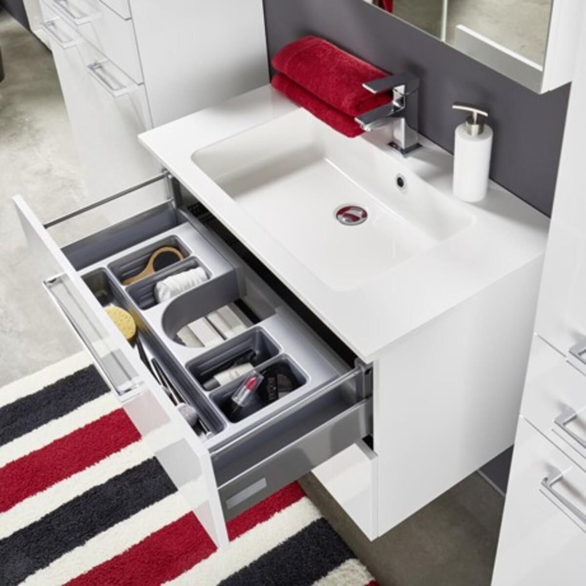 Bild 2 von Bad-Waschtisch inkl. Mineralguss-Waschbecken