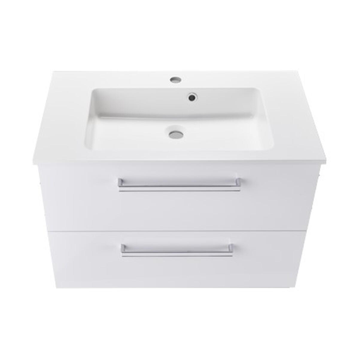 Bild 5 von Bad-Waschtisch inkl. Mineralguss-Waschbecken