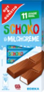 Gut & Günstig Schoko und Milch oder Erdbeer- und Joghurtcreme
