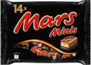 Mars, Snickers oder Twix Minis