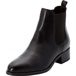 MANGUUN Collection Ankle Boots, Leder, Blockabsatz, für Damen