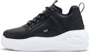 Buffalo, Platform-Sneaker Flat Smpl in schwarz, Sneaker für Damen