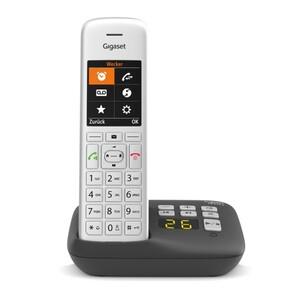 Gigaset Telefon CE575A ,  schnurlos, mit AB, silber