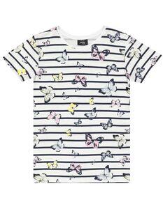 Mädchen T-Shirt mit Allover-Muster