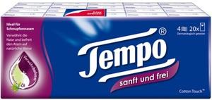 Tempo sanft & frei Taschentücher mit Pflegebalsam 20x9 Tücher