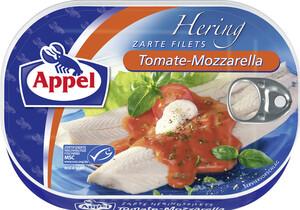 Appel zarte Heringsfilets in Tomate-Mozzarella Sauce 200 g