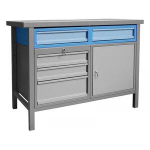 Güde              Unterbaucontainer, Blau