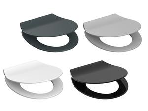 Schütte Toilettensitz »SLIM«, Absenkautomatik, pflegeleichte Oberfläche, moderne Farben